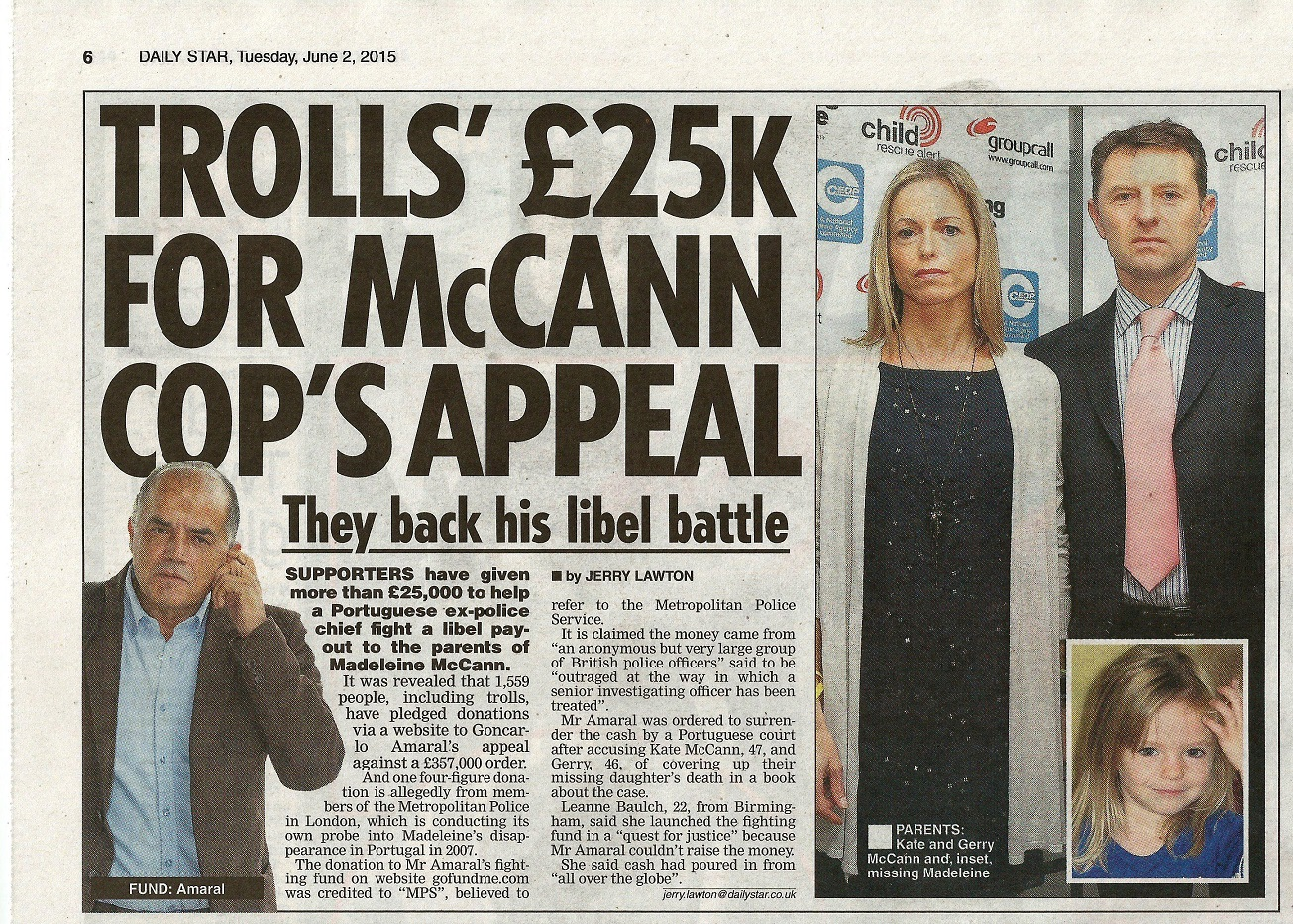 Media Mayhem - MCCANN MEDIA NONSENSE OF THE DAY - Page 15 DailyStar020615pe2