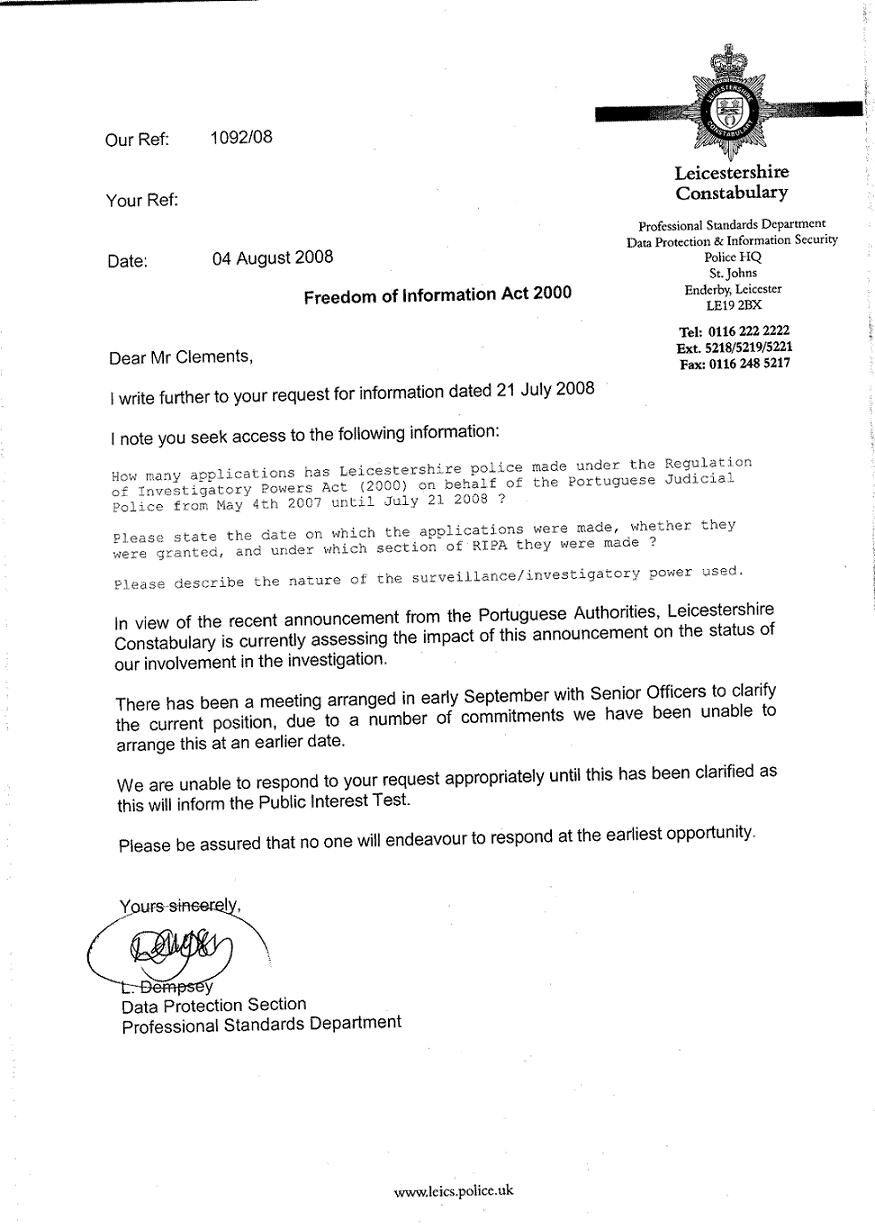 letter of request for information freedom of information act request letter