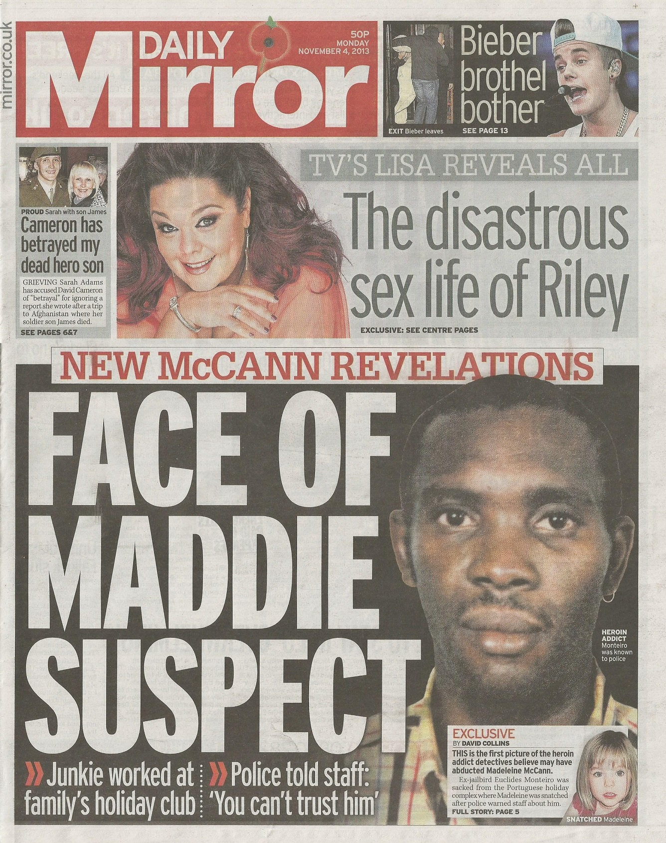 Media Mayhem - MCCANN MEDIA NONSENSE OF THE DAY - Page 31 Dailymirror041113frontpage