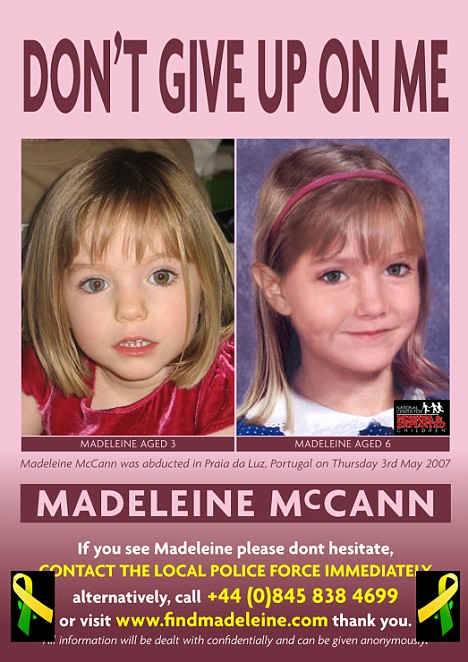 madeleine mccann age progression